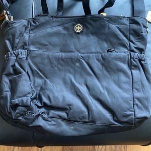 Tory Baby Bag w/ flaws and broken side bkl & 1 zip